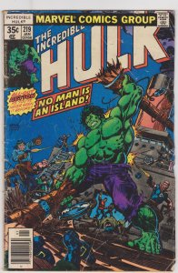 Incredible Hulk #219