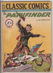 Classic Comics #22 (Mar-54) VG/FN Mid-Grade