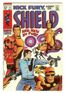 Nick Fury Agent Of Shield 12   Barry Smith