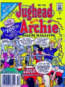 Jughead with Archie Digest Magazine #100 (Newsstand) FN; Archie   save on shippi