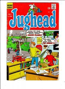 Jughead, Archie's Pal #158 (Jul-68) FN- Mid-Grade Archie, Betty, Veronica, Re...