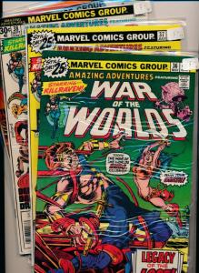 Marvel Comics Amazing Adventures WAR of the WORLDS #36,37,38,39 ~ FN/VF  (PF74)