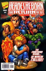 Heroes Reborn The Return #1, NM (Stock photo)