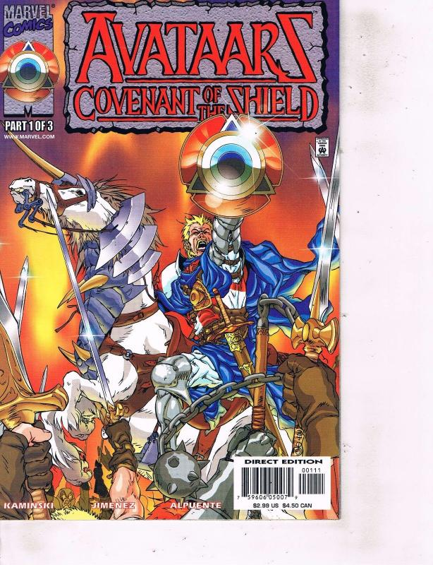 Lot Of 2 Comic Books Marvel Avataars Covenant of Shield #1 and #2  MS12