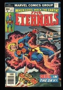 Eternals #3 FN/VF 7.0 1st Sersi!