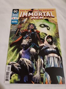 Immortal Men 1 Near Mint  Cover by Jim Lee and Scott Williams