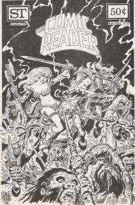 Comic Reader, The #122 VF; Street Enterprises | save on shipping - details insid