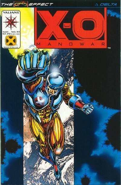 X-O Manowar (1992 series) #33, NM (Stock photo)