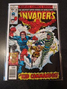 THE INVADERS #28 BRONZE AGE HIGH GRADE VF/NM