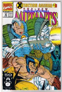 NEW MUTANTS #97, NM, Cable, Wolverine, X-Tinction, 1983, more in store