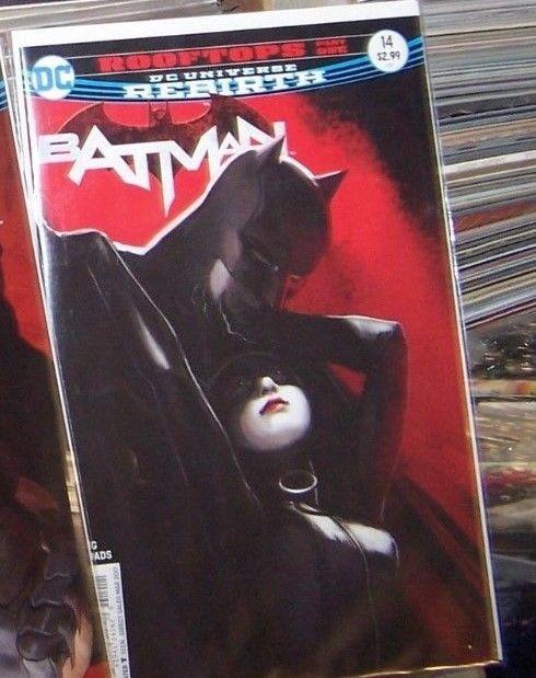Batman #14  2017, DC UNIVERSE REBIRTH  catwoman rooftops pt 1