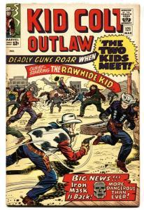 KID COLT OUTLAW #121 comic book-Western-Marvel- 1965 FN