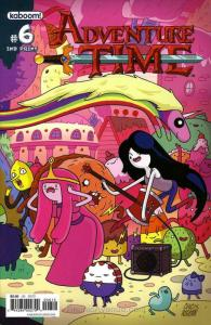 Adventure Time #6 (2nd) VF/NM; Boom! | save on shipping - details inside