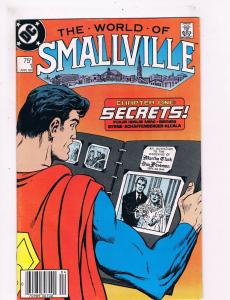 The World Of Smallville # 1 VF DC Comic Books Superman Lois Lane Clark Kent! SW9