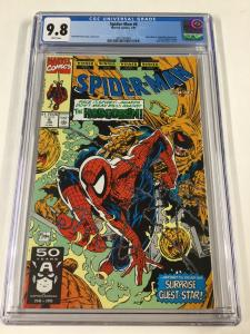 Spider-man 6 Cgc 9.8 White Pages Todd McFarlane Cover 1990 Series