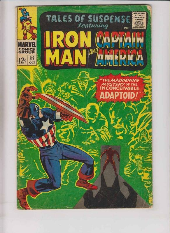 Tales of Suspense #82 VG iron man - captain america - stan lee - jack kirby