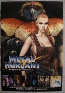 METAL HURLANT Promo poster,Humanoids, 18x26, Unused, more Promos in store