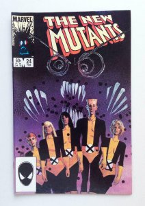NEW MUTANTS #24, FN/VF, Sienkiewicz, Claremont, Marvel 1983 1985, more in store