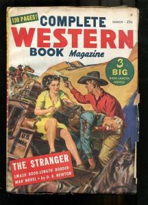 COMPLETE WESTERN PULP-1948-MAR-SAUNDERS GGA LEGS COVER- VG+