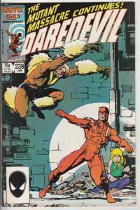 Daredevil #238 (Jan-87) VF+ High-Grade Daredevil