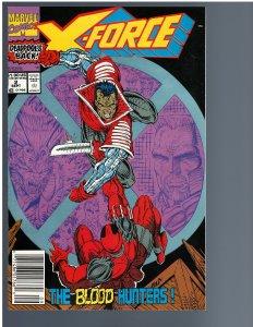 X-Force #2 (1991) - Key 1st Weapon X