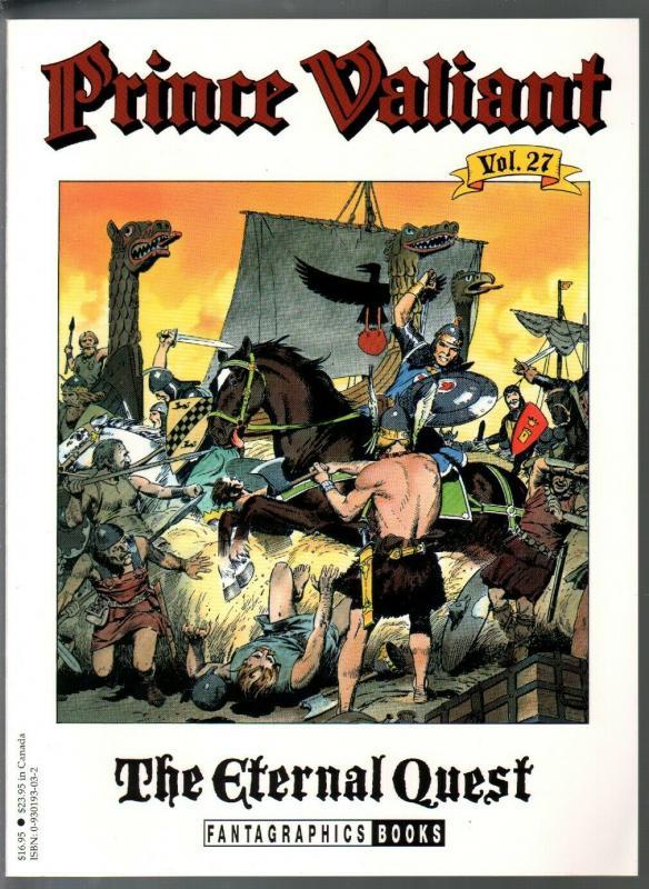 Prince Valiant #27 1995-Fantagraphics-color reprint-Hal Foster-Eternal Quest-VF