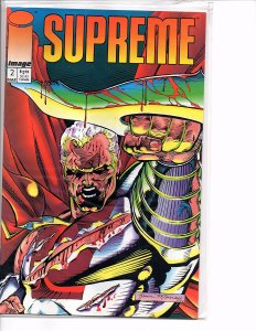 Image Comics 1992 - (Vol. 1) Supreme #2 Rob Liefeld