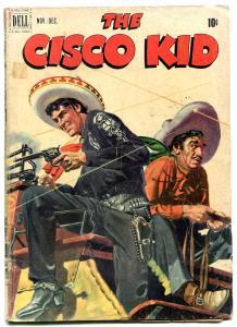 Cisco Kid #6 1951- Dell Golden Age Western VG-