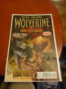 Wolverine: Sabretooth Reborn #1 (2013)