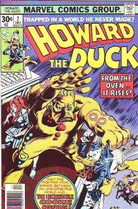 Howard the Duck #7 (Dec-76) VF/NM+ High-Grade Howard the Duck