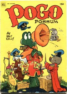 POGO POSSOM #6-1951-WALT KELLY ART-INFINITY COVER-DELL-15 CENT ISSUE