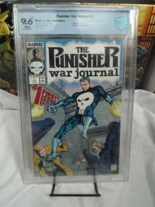Punisher War Journal #1 (1988) - CBCS 9.6 NM+ Origin of the Punisher