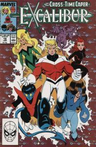 Excalibur #18 FN; Marvel | save on shipping - details inside