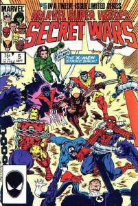 Marvel Super-Heroes Secret Wars #5, NM- (Stock photo)