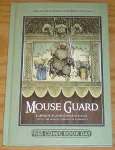 Mouse Guard, Labyrinth and Other Stories HC NM jim henson & david bowie film