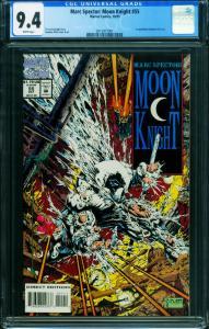 MARC SPECTOR MOON KNIGHT #55 CGC 9.4-1993-PLATT ART-HTF 201597701