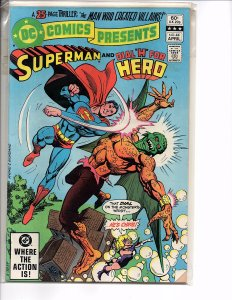 DC Comics Presents #44 Superman and Dial H for Hero VF