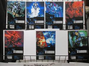 Starborn (Boom 2010) Lot of 7Diff A Stan Lee Chris Roberson Khary Randolph