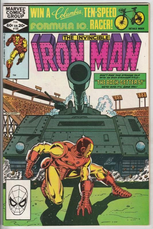 Iron Man #155 (Feb-82) NM- High-Grade Iron Man