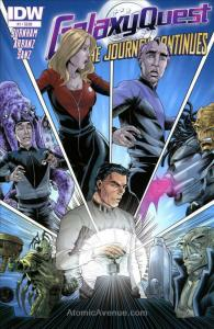 Galaxy Quest: The Journey Continues #1 VF/NM; IDW | save on shipping - details i
