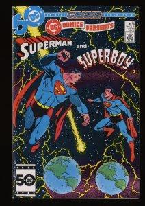 DC Comics Presents #87 NM- 9.2 1st Superboy Prime!