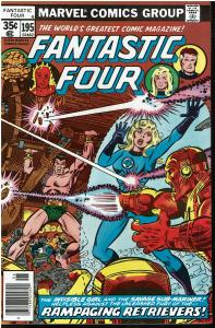 Fantastic Four #195, 9.0 or Better - Sub-Mariner Appearance