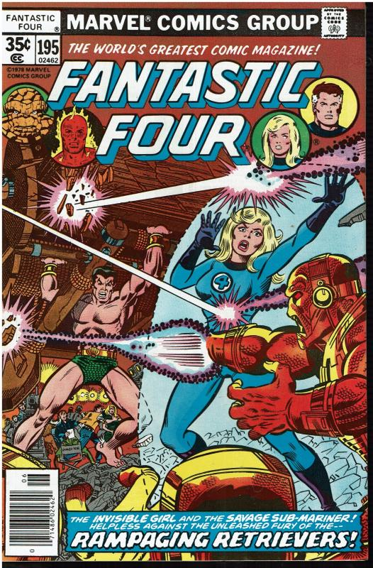 Fantastic Four #195, 9.0 or Better