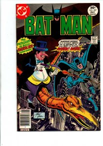 Batman #287 newsstand - Penguin - 1977 - (-Very Fine)