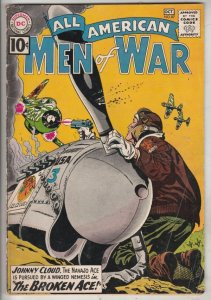 All-American Men of War #87 (Oct-61) FN/VF Mid-High-Grade Johnny Cloud