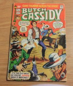 Butch Cassidy comic  #1 (Jun 1971, Skywald) western