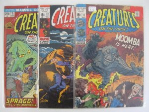 *CREATURES ON THE LOOSE LOT #11-29 Many High Grade Guide $215