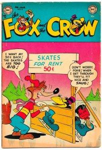 FOX and the CROW #8 (Feb 1953) 36 Pages of Madcap Jim Davis Hijinx!  VG+