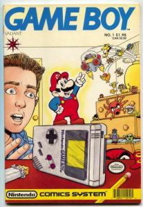 Game Boy #1 1990- Valiant comics- Super Mario- Nintendo VF/NM