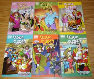Love and Capes: What to Expect #1-6 VF/NM complete series - zahler set 2 3 4 5